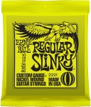 Ernie Ball 2221 Regular Slinky Nickel Wound Electric Set; 10-46