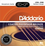 D'Addario EXP42 Coated Resophonic Guitar Strings, 16-56