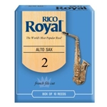 Rico Royal RRAS Royal by D'Addario Alto Sax Reeds, 10-pack