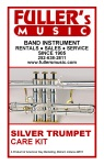 Superslick TRCKS Trumpet Care Kit, Silver
