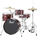 Pearl RS584CC91 Roadshow 4 Piece Drum Kit; Wine Red
