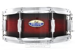 "Pearl DMP1455SC261 Decade Maple 5.5"" x 14"" Snare Drum; Gloss Deep Red Burst"