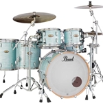 Pearl STS925XSPC414 STS Session Studio Select; 5pc Kit w/ Free 14x14 Floor Tom; Ice Blue Oyster