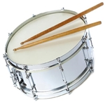 Fuller's Music COMBOKITREVB Director Approved Seperate Drum & Bell Kit - Reverse Rental - Used B