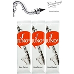 Juno JUNOBCL Bass Clarinet Reeds, Card of 3