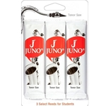 Juno JUNOTS Tenor Saxophone Reeds, Card of 3
