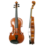 Fuller's Music VIOLINREVNEW Director Approved Violin Outfit - Reverse Rental - New