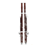 Fox MODEL240 Bassoon, Red Maple Body, Full German System plus High D and E Keys