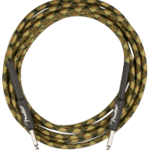 Fender 0990818176 Professional 18.6' Instrument Cable, Woodland Camo