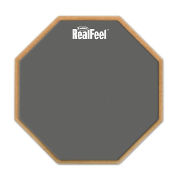 Real Feel RF6D RealFeel by Evans 2-Sided Practice Pad, 6 Inch