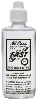 ACO12 Al Cass Valve Oil, Box of 12