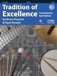 Tradition of Excellence, Bk2, Percussion