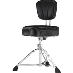 Pearl D2500BR Backrest Throne with Motorcycle Seat
