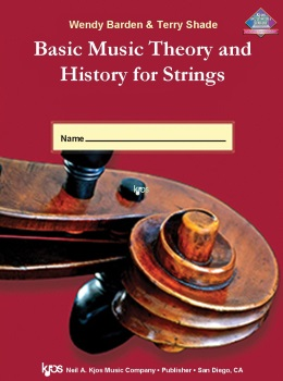 Basic Music Theory and History for Strings; Wk Bk 1; String Bass