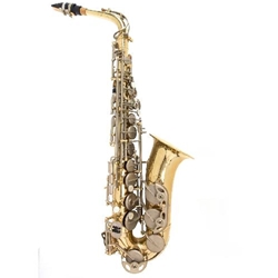Fuller's Music ALTOSAXREVNEW Director Approved Alto Saxophone Outfit - Reverse Rental - NEW