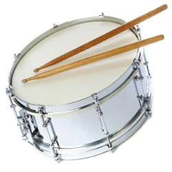 Fuller's Music COMBOKITREVA Director Approved Seperate Drum & Bell Kit - Reverse Rental - Used A