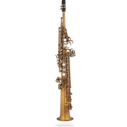 Eastman ESS652RL 52nd St. Pro Soprano Saxophone - Unlacquered